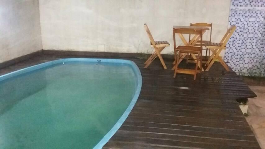 luxuosa ampla c/piscina area lazer - Rio das ostras - Dom
