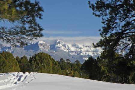 A winter wonderland outside your door!