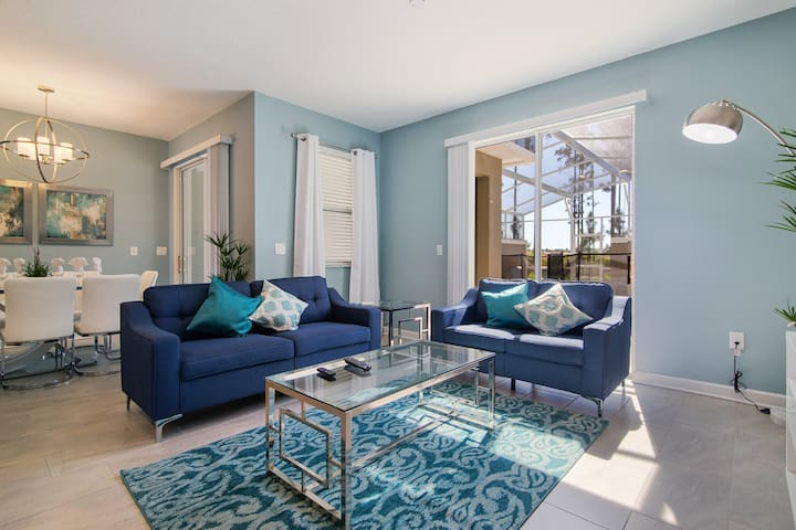 Champions Gate TownHm w Private Splash Pool-870 - Townhouse