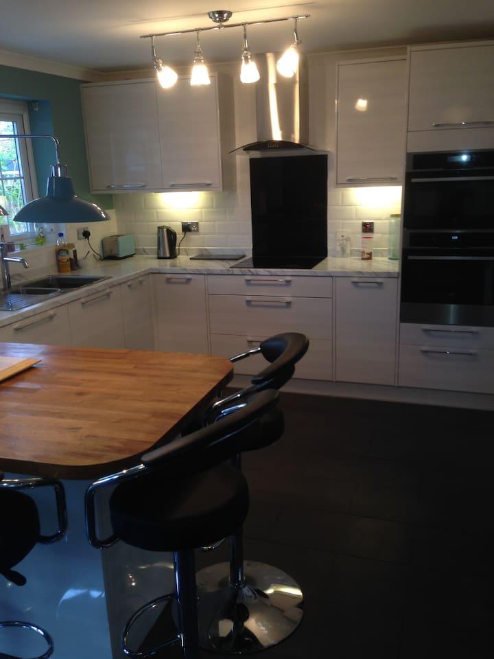 New high-spec kitchen