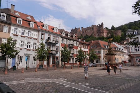 Gemütliche Wohnung unterm Schloss - Heidelberg - Appartement