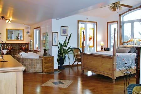 Chante la Rivière ,romantique suite - Repentigny - Villa