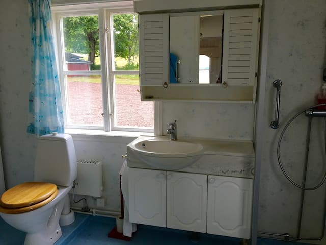 Toilet in the main building