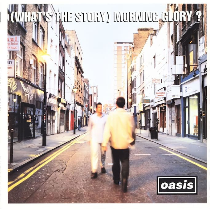 The Studio is in the building on the right side of this Album Cover,called 'What's The Story Morning Glory ?'
