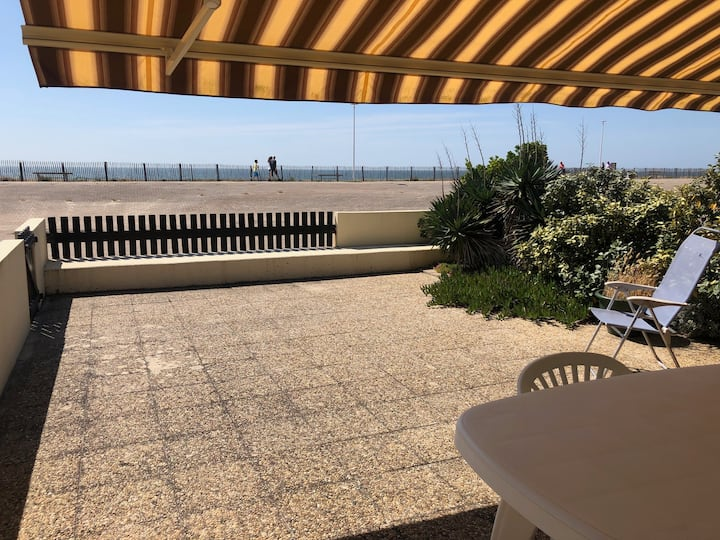 Ground floor apartment, ocean facing, 1 bedroom, 4 persons, Lacanau Ocean