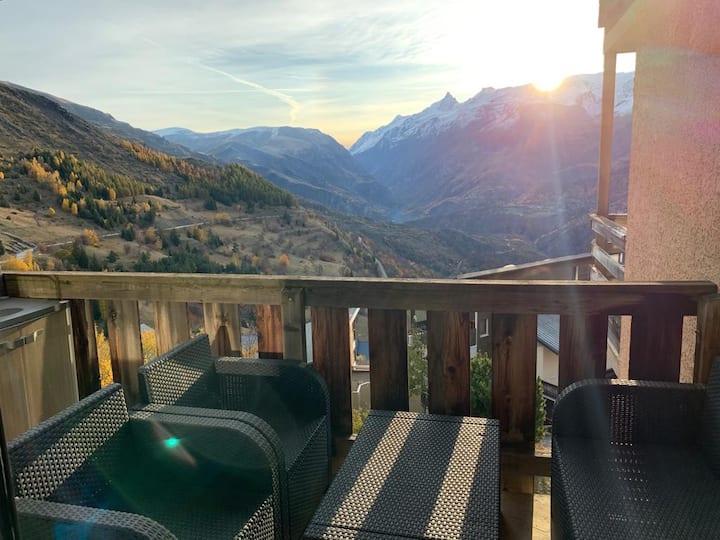 Appartement sur les pistes Auris - Alpe d'Huez
