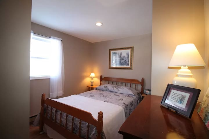 Double Bedroom on 3rd level with shared bath in hall.