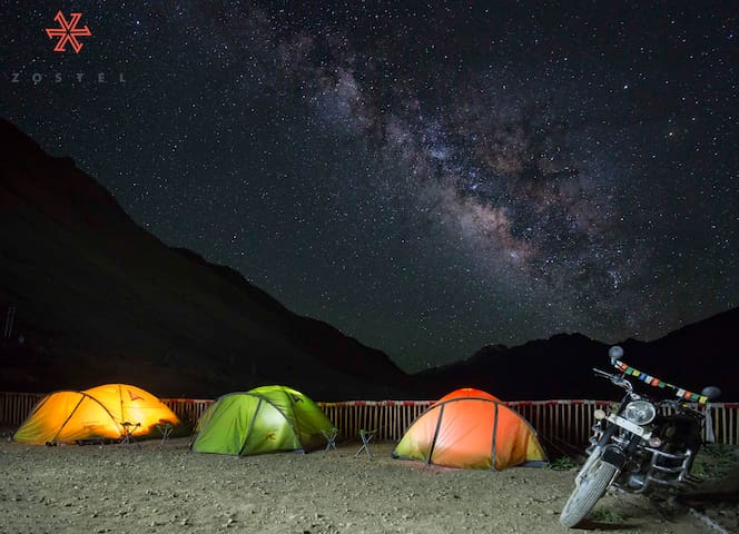 Outdoor Private Tent in Spiti