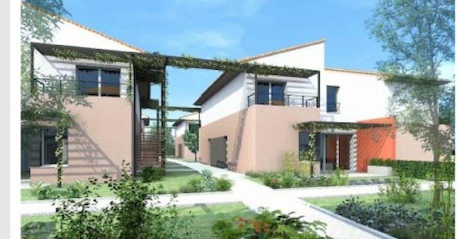 Maison triplex résidence calme à Toulouse!