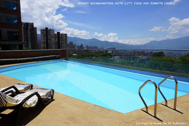 Feel at Home In El Poblado... - Medellín - Apartemen