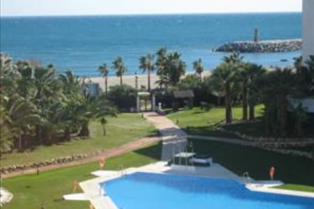 Puerto Banus Front Beach Apartment - 马贝拉 - 公寓