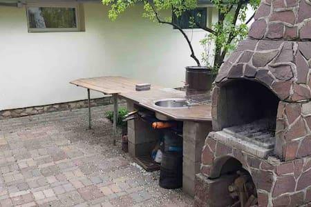 Уютный дом с сауной и барбекю