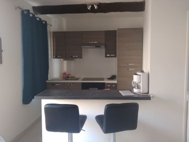 Studio in the heart of Agde 10min from the beaches