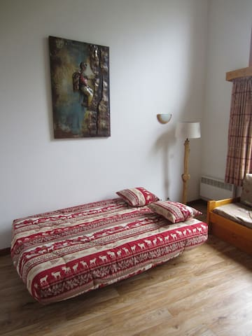 Double Sofa Bed in lounge