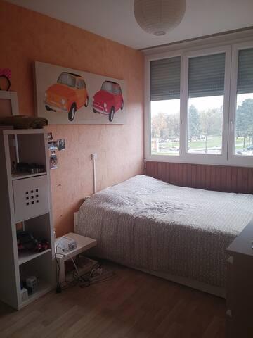 Grand appartement calme sur l'Ile de Nantes