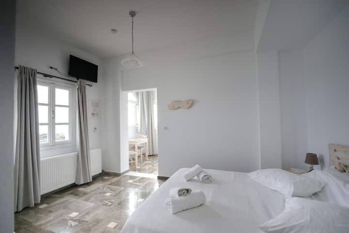 Superior Double Room with Partial Caldera VIew
