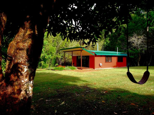 Peaceful, private space surrounded by nature. - Mullumbimby Creek - Kulübe