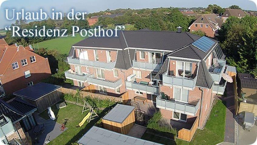 Residenz-Posthof WHG 2 Urlaub an der Nordsee - Büsum - Wohnung