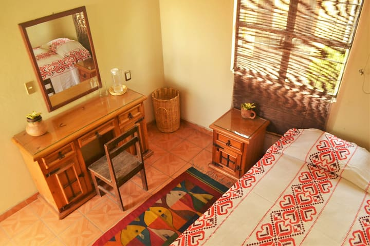 Solo Travellers Bedroom in Porfirio Díaz! - Oaxaca