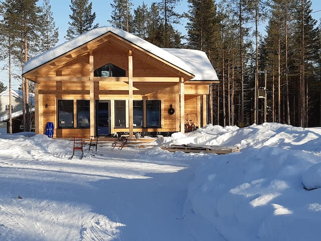Modern Holiday House in Lapland