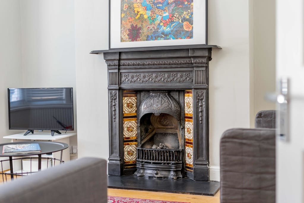 Period fire place