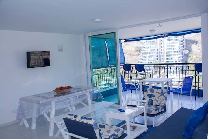 Cozy Apartment by the Beach - Santa Marta - Leilighet
