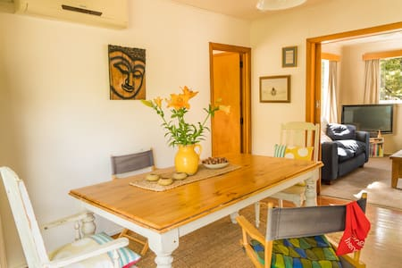 Light & bright, semi rural Cottage - Matakana