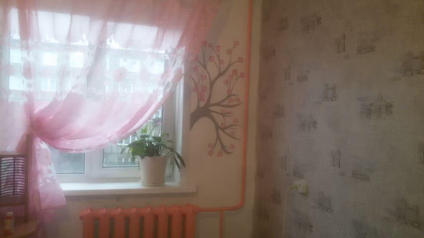 Студия на Предмостной площади - Krasnoyarsk - Apartemen