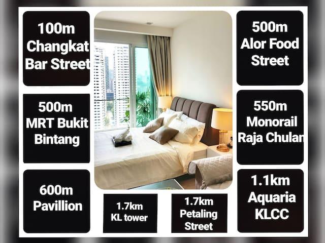 Ramada Suites KLCC Studio , 500m MRT Bukit Bintang