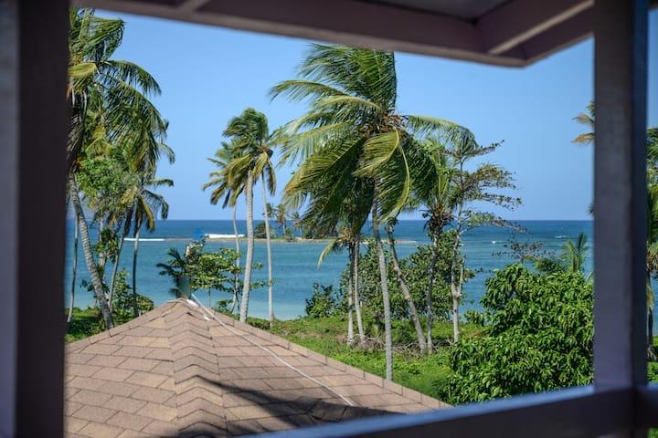 First floor studio w/ large ocean view terrace
