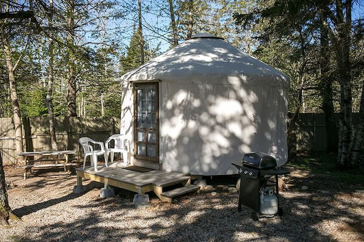 Puffin Place Yurt