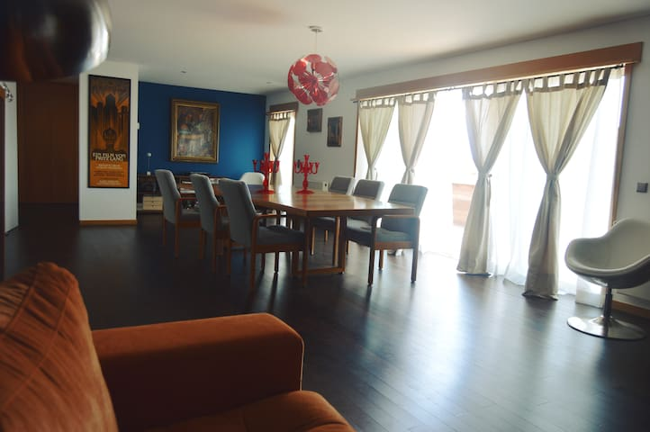 Beautiful, spacious penthouse 15 min. Porto center - Porto - Wohnung