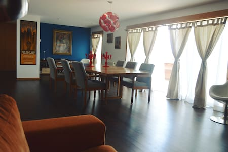 Beautiful, spacious penthouse 15 min. Porto center - Porto - Appartement