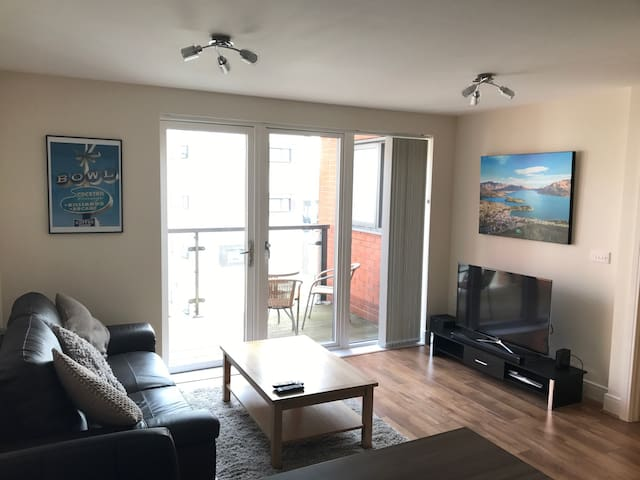Lovely one bedroom apartment - Newport - Lägenhet
