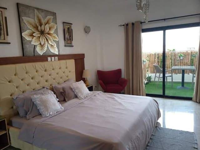 Appartement 2 pièces moderne et paisible