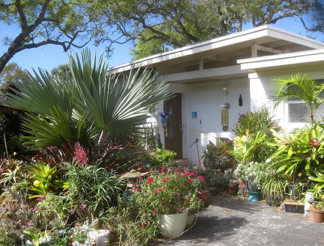 Tropical Oasis w/pool near beach - Cocoa Beach - Hus
