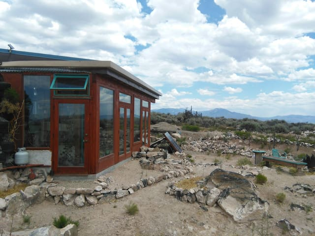Lo-Fi Earthship Glamping - El Prado - Earth House