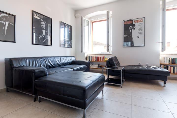 Modern central apartment/garden/Collosseum
