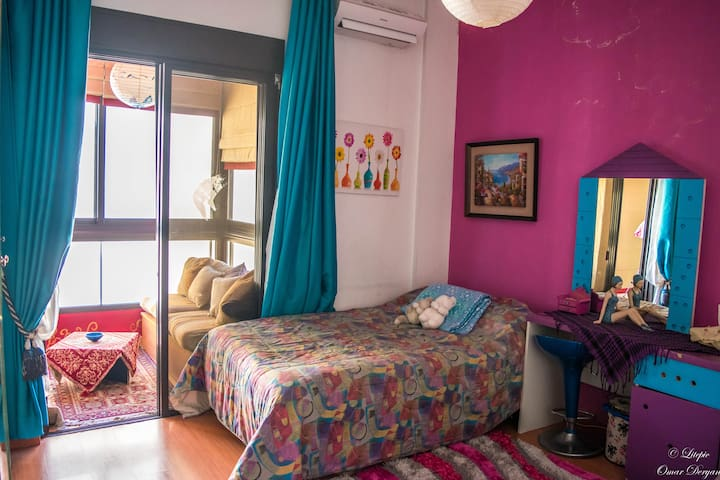 Cozy place to stay in Sin-el-Fil - Sin el fil - Apartment
