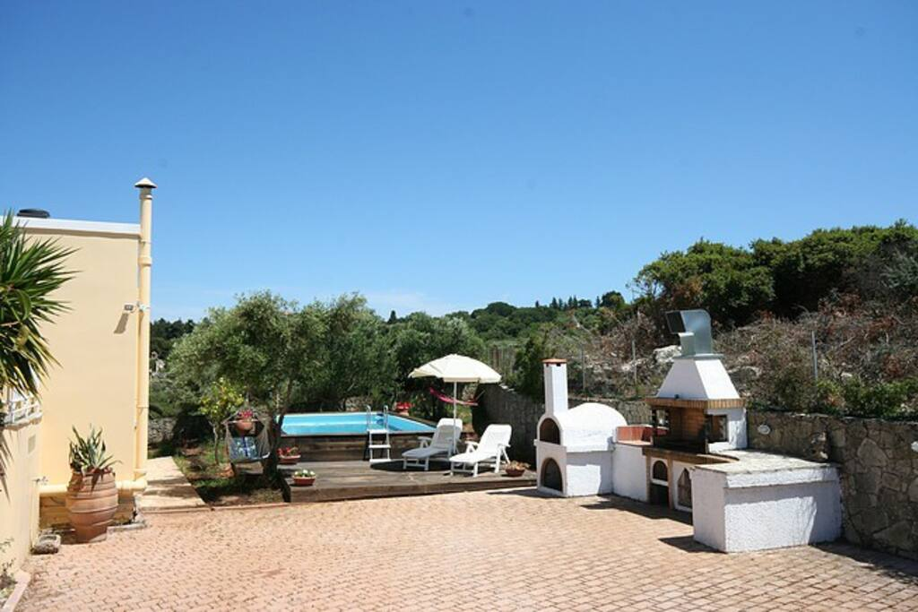 Ntina Villa Exterior - Private Pool