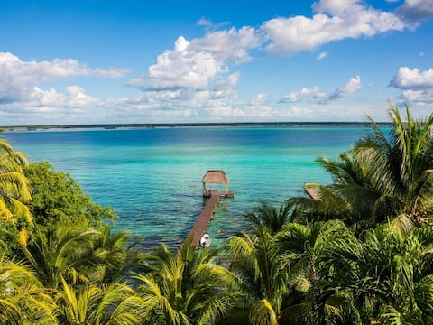 ★Bacalar Guest Room★ from Casitas Bacalar