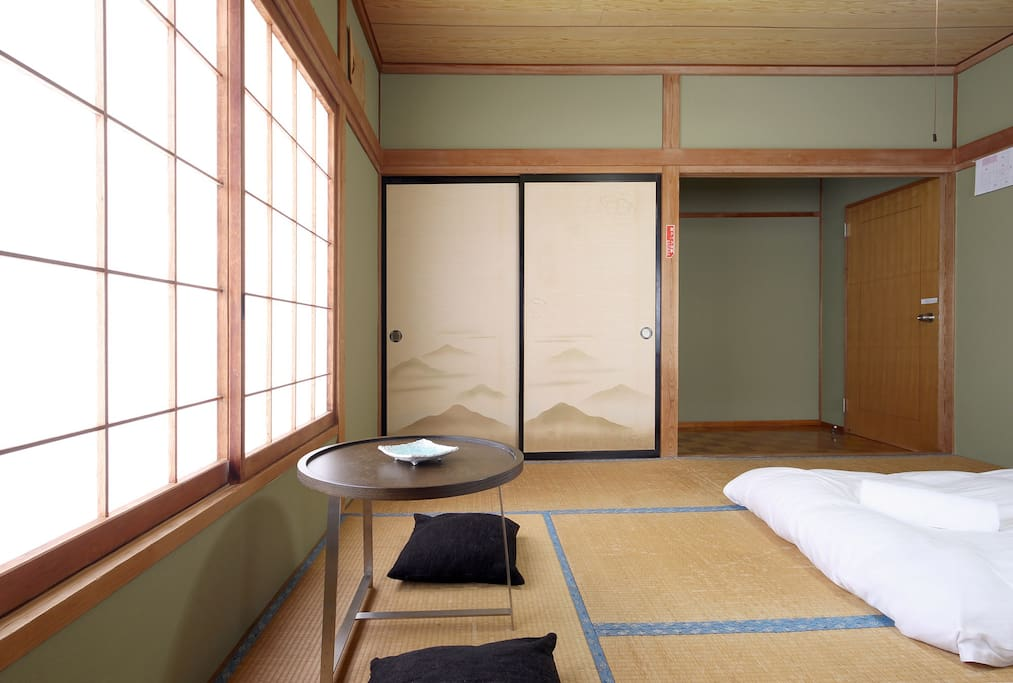 Traditional Japanese style tatami room