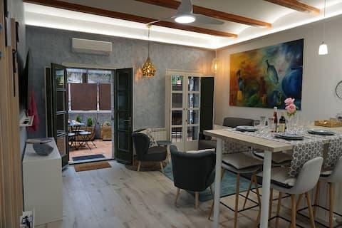 ALBADA BLAU nuevo apartamento en el barrio antiguo