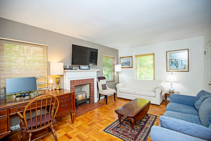 HYDE PARK LUXURY, COZY, OUTFITTED/W OFFICE/1 BDRM