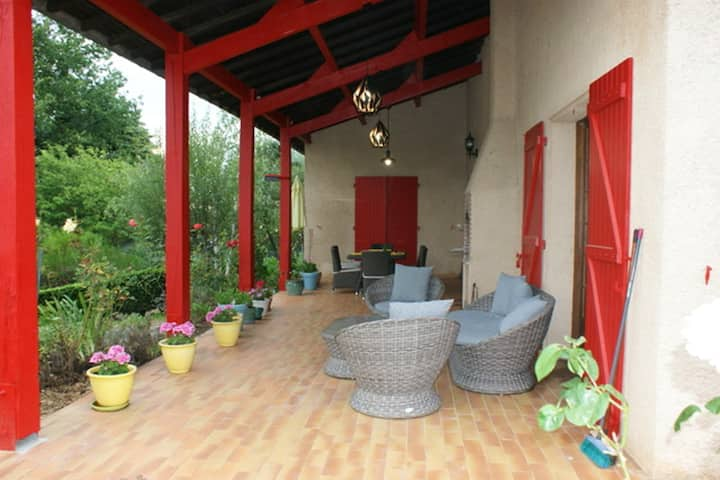Villa with 3 bedrooms in Auterive, with private pool, enclosed garden and WiFi
