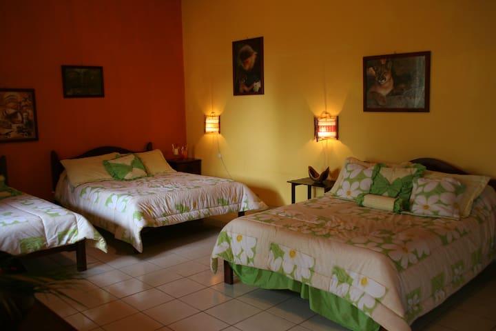 habitación familiar  - Alajuela - Bed & Breakfast