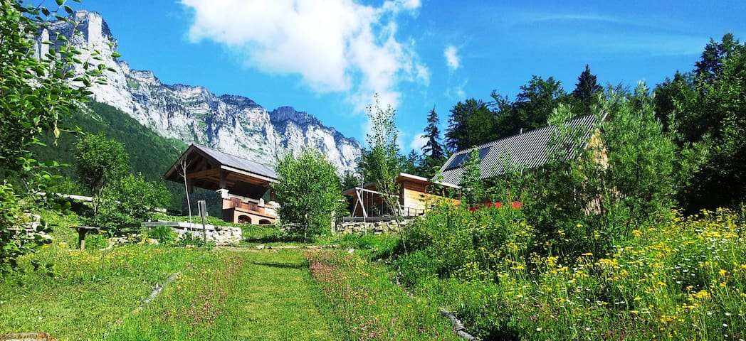 Eco Chalet 6/8 places en pleine nature en station - Saint-Bernard - Chalet