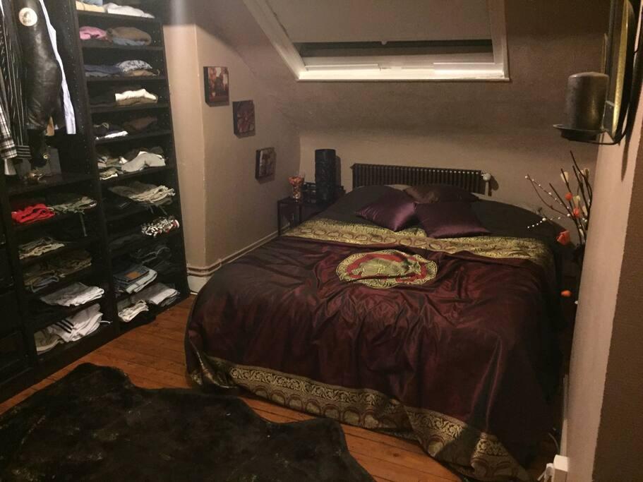 Ma chambre, My room