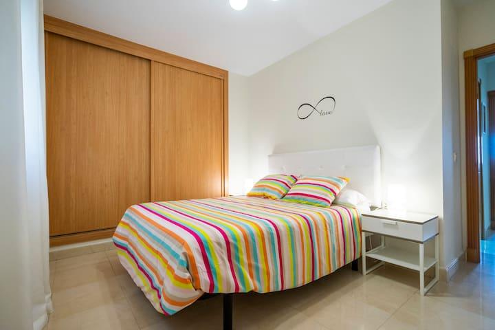 TORRECILLA beach POOL 2 rooms  CLOSE center QUIET