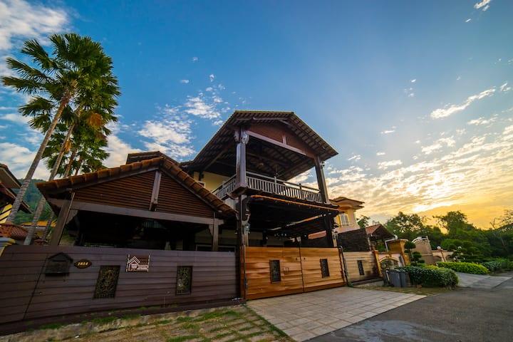 Bahau Woodz Villa @ Taman Meranti  森美兰马口城中木屋